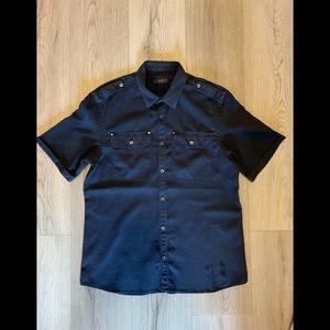 Men's BELSTAFF short sleeve button up shirt